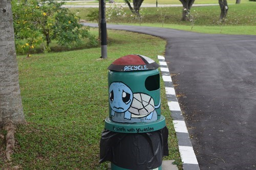 Pokémon,squirtle,recycling