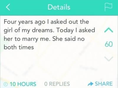 marriage,yik yak,relationships,rejected,dating