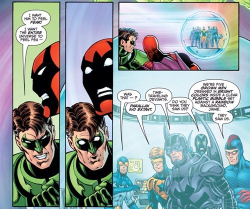 Booster Gold Isn't The Most Serious Comic