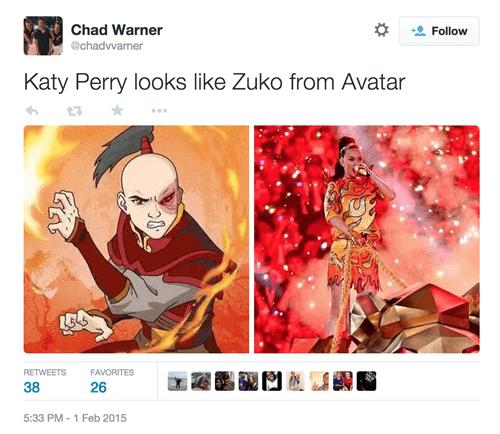katy perry totally looks like zuko