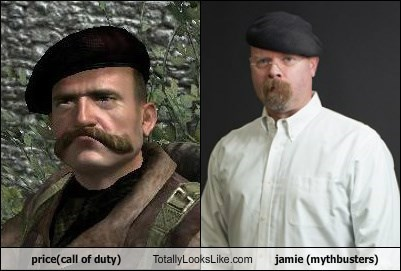 price(call of duty) Totally Looks Like jamie (mythbusters)
