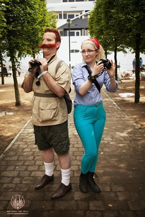 cosplay,The Wild Thornberrys,smashing