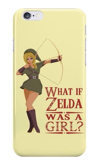zelda, what if zelda was a girl, rage