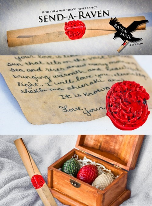 Game of Thrones,etsy,mail