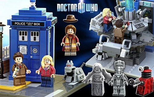 Toy of the Day: LEGO to Make a 'Doctor Who' Themed Set