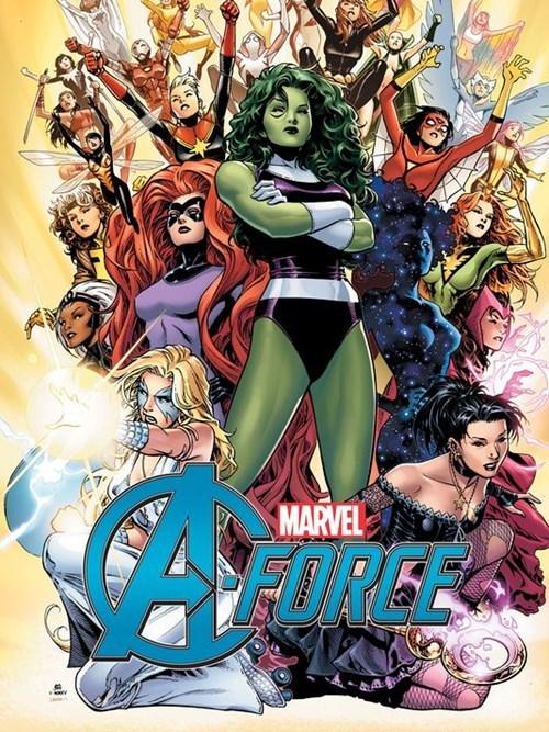 Marvel's All Female Avengers, AKA A-Force, Debut During Secret Wars