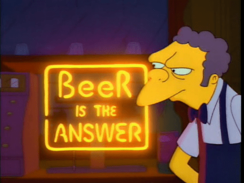 moe knows the answer to life's questions