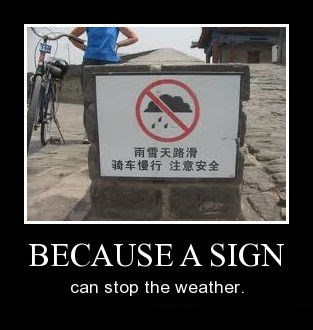 sign,weather,funny,rain