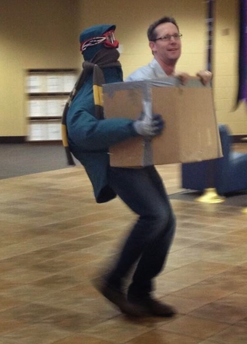 Cool Costume Delivery, at Your Service
