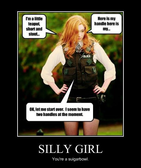 SILLY GIRL