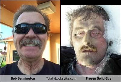 Bob Bennington Totally Looks Like Frozen Solid Guy