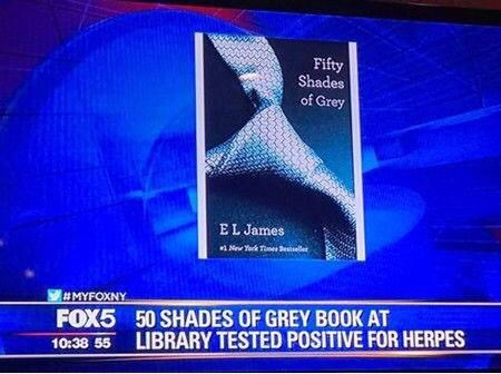 how can a book have herpes?