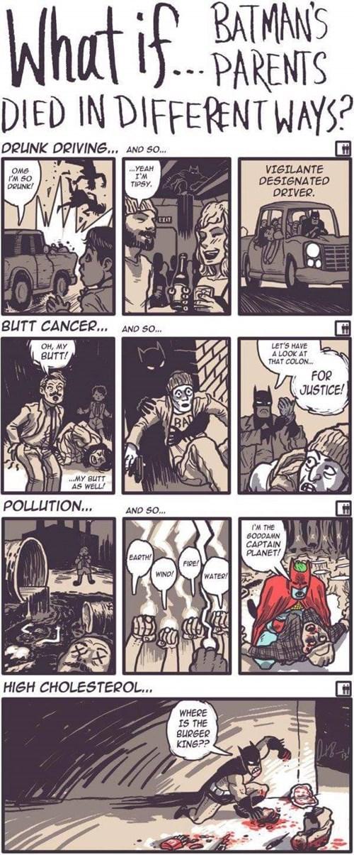Batman's Alternate Universes