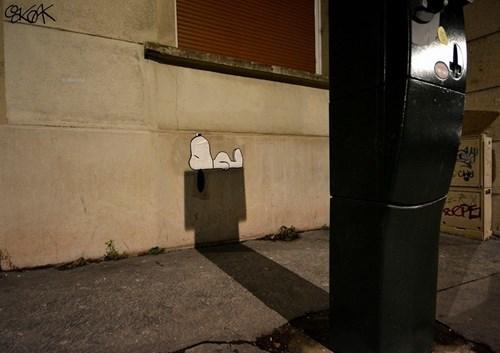 epic-win-pics-street-art-snoopy-peanuts