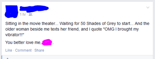 """Fifty Shades of """"Not Worth it"""""""