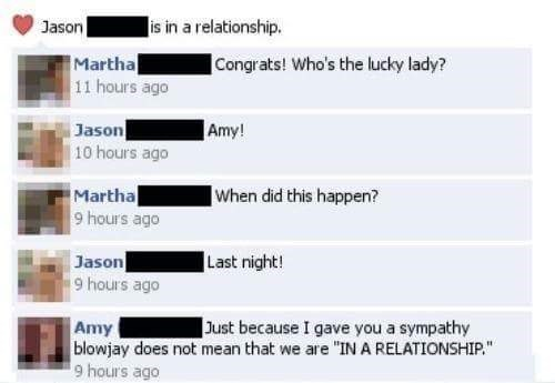 One BJ Does Not a Relationship Make