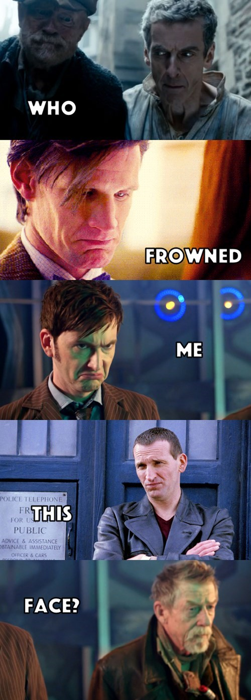 new face,the doctor,regeneration