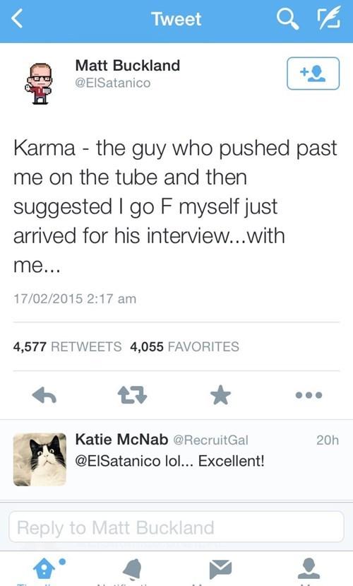 twitter,jobs,karma