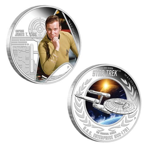 Australia's Got a Set of Special Edition Star Trek Coins