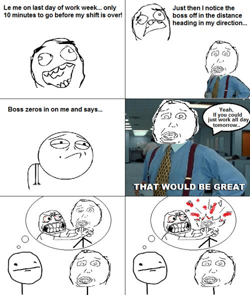 boss,Office Space,work,rage