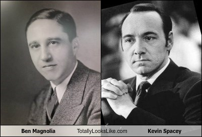 Ben Magnolia Totally Looks Like Kevin Spacey