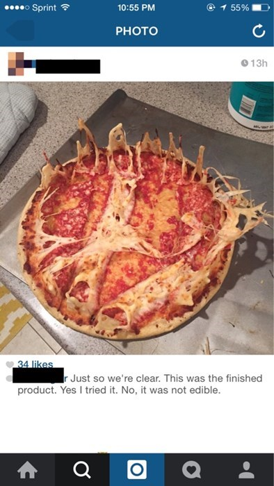 Making Pizza From the Great Beyond