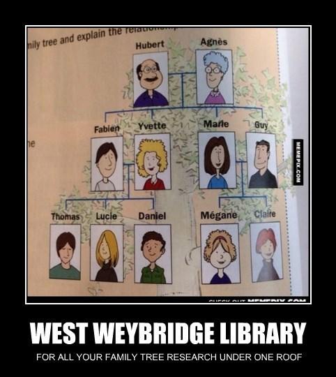WEST WEYBRIDGE LIBRARY