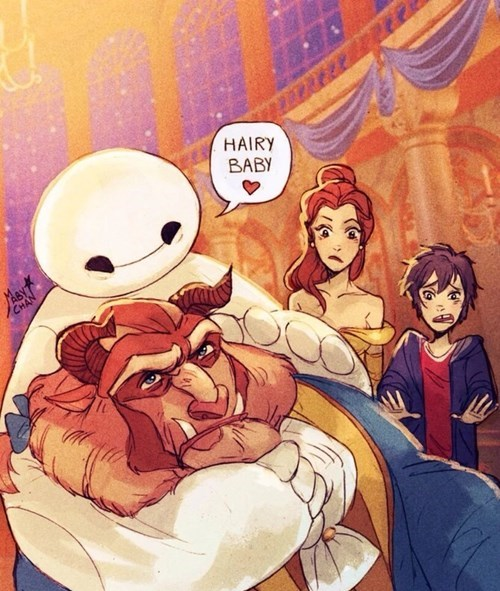 Baymax and the Beast