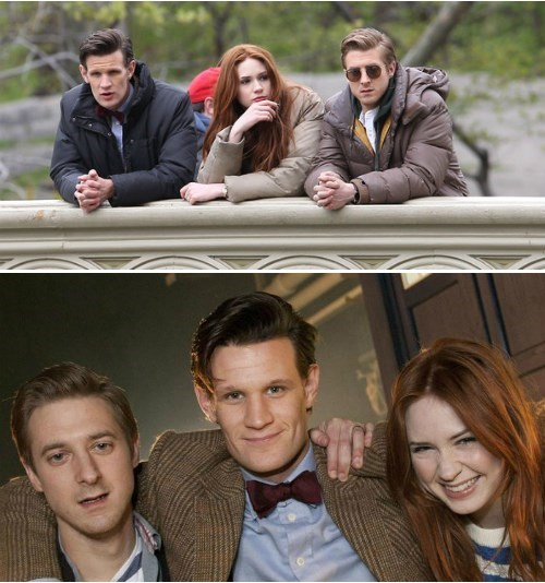 Karen Gillan Talks About Her Last Moments Playing Amy with Rory and The Doctor