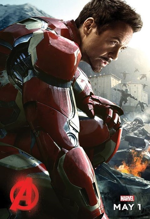 Robert Downey Jr Reveals Iron Man Character Poster For Avengers 2, Teases Big Announcement