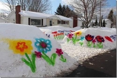 epic-win-pics-graffiti-spring-winter-snow