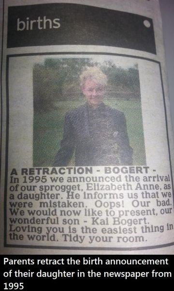 These Parents Send the Nicest Correction, Years After the Fact
