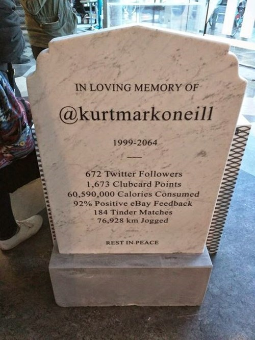 Headstones Are Going to Look Like This Any Day Now