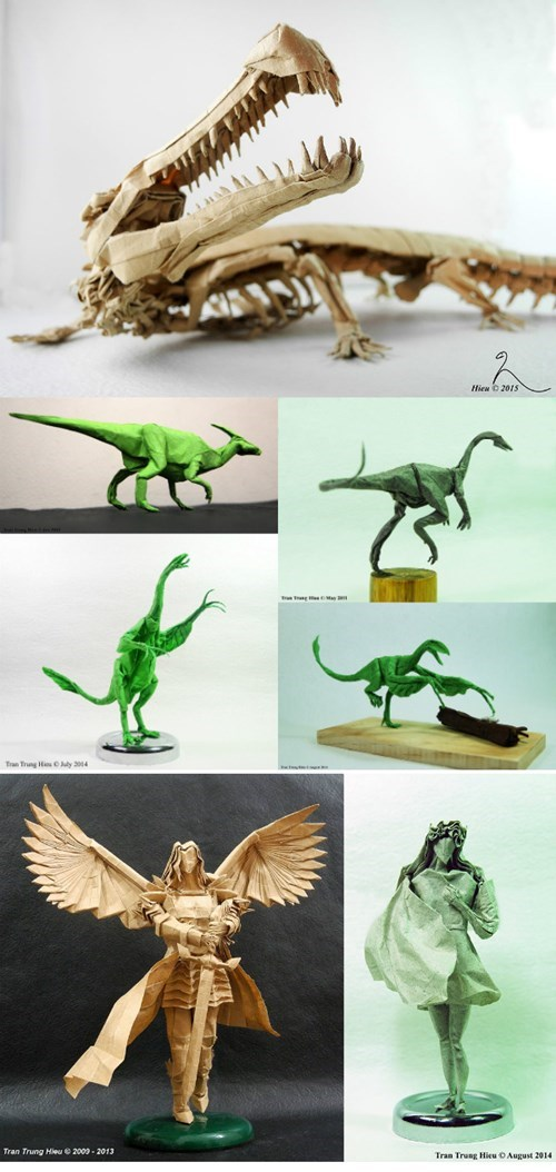 What is Up With Adam Tran's Origami Sorcery?!