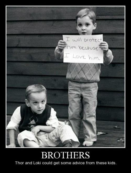 Brotherly Love Isn't Always Nice