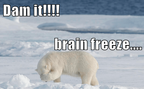 Dam it!!!! brain freeze....