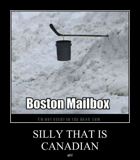 SILLY THAT IS CANADIAN