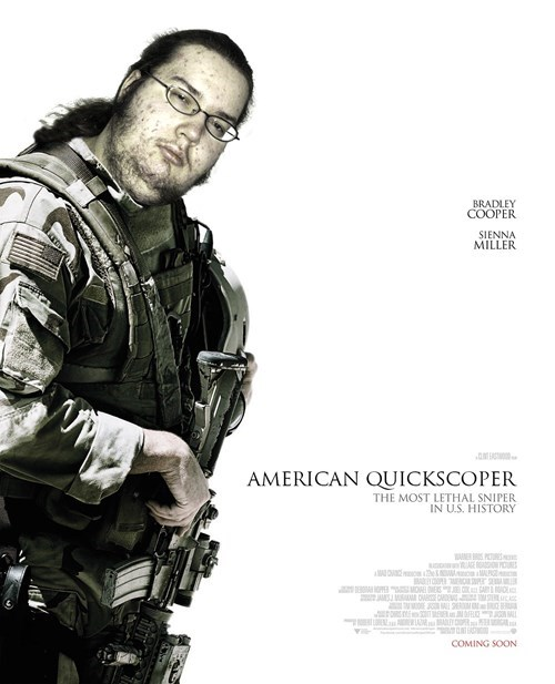 american sniper,neckbeards,quickscope