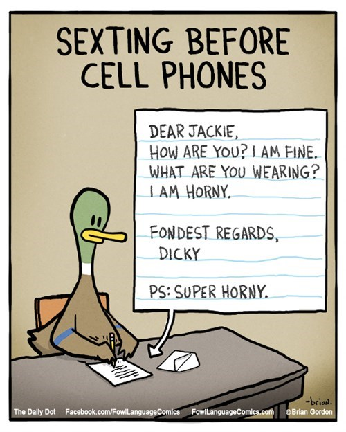 funny-web-comics-sexting-before-cell-phones