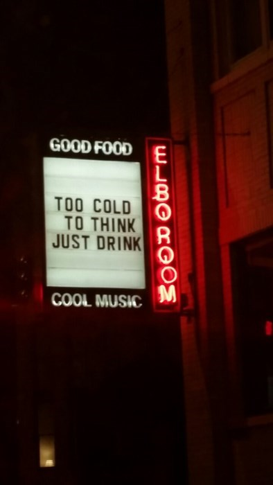 too cold to think