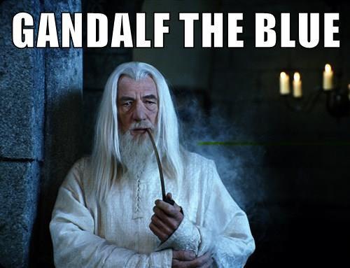 GANDALF THE BLUE