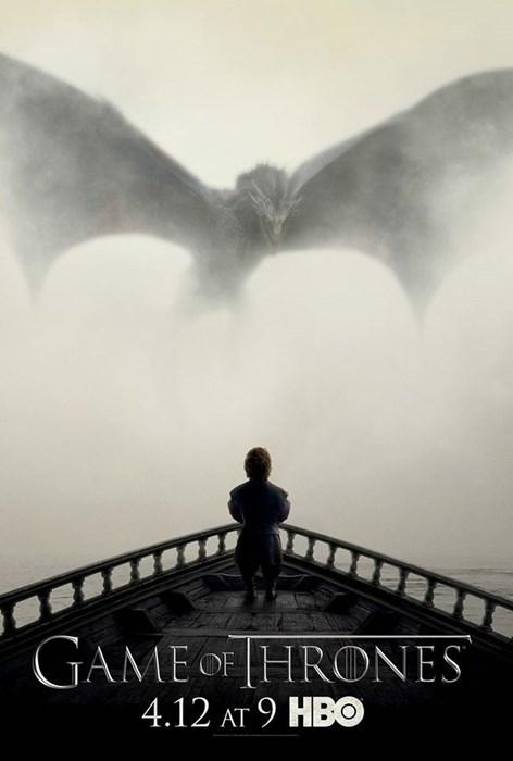 geek news game of thrones season 5 dragon poster