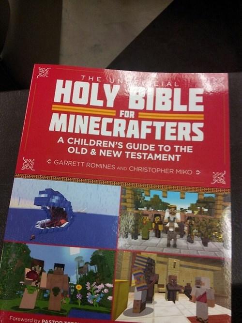 wtf,bible,minecraft