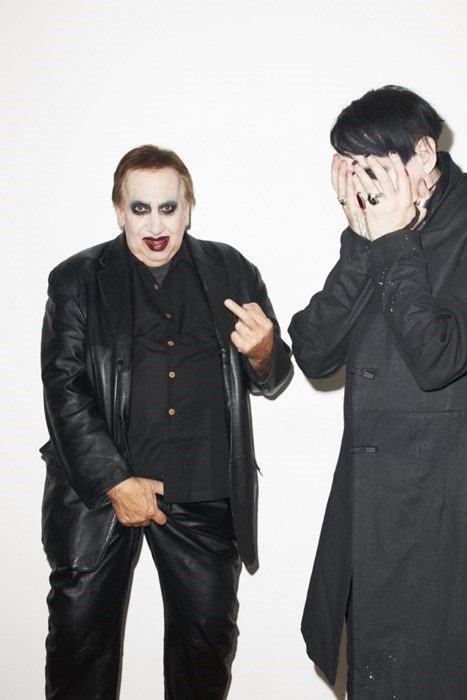That's Marilyn Manson's Father, Proving That Dads Can Be Embarrassing at ANY Age