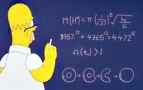 geek news homer simpson predicted higgs boson