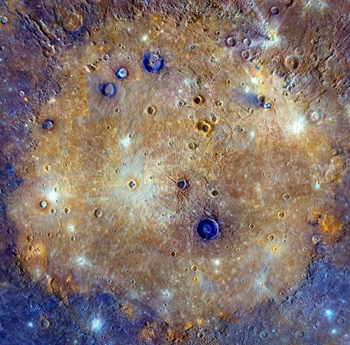 mercury is a strange and alien place