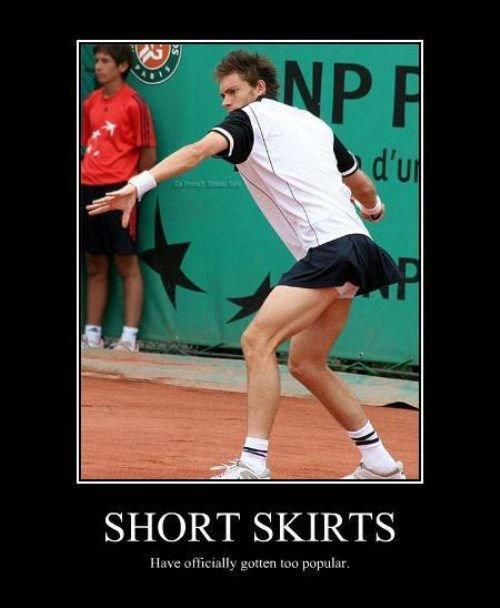 That's a Short Skirt