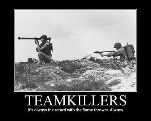 teamkiller,jerks,video games,funny
