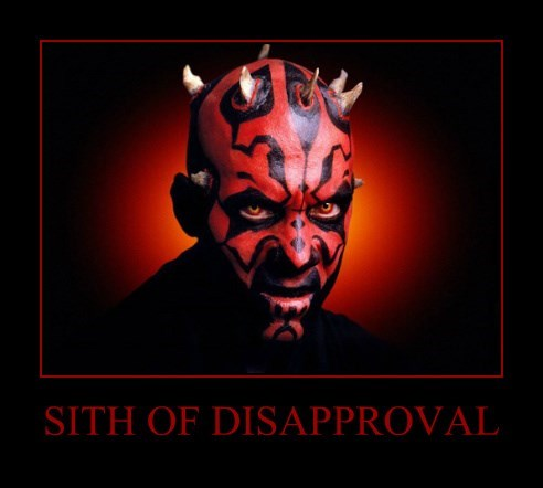 SITH OF DISAPPROVAL