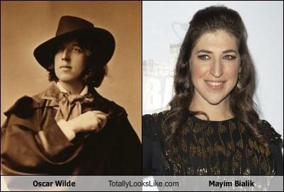 Oscar Wilde Totally Looks Like Mayim Bialik